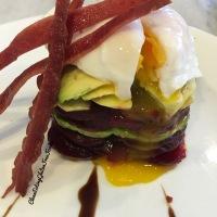 Avocado Terrine with Egg