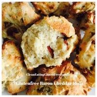Gluten Free Bacon Cheddar Rolls