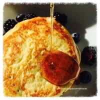 Hubby's Quinoa Pancakes