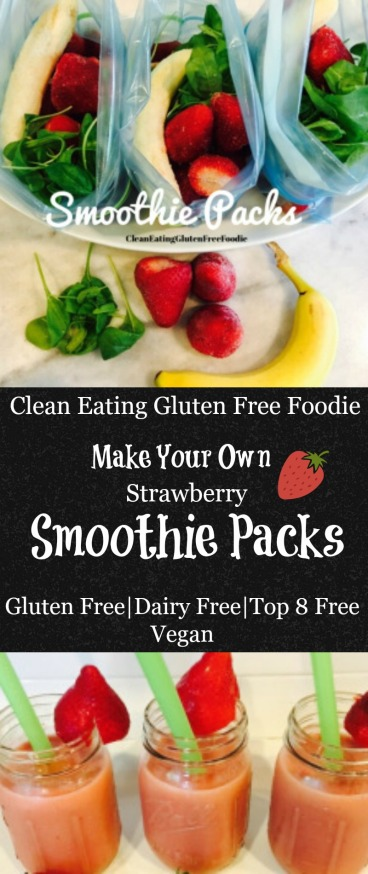 Strawberry Smoothie Packs