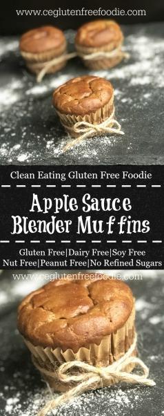 apple sauce blender muffins