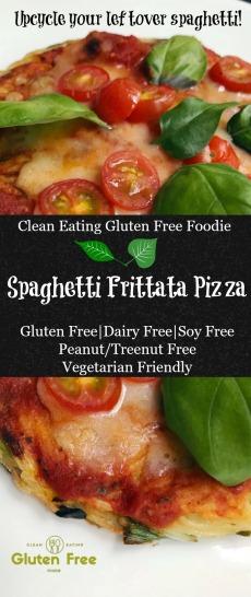 Spaghetti Frittata Pizza